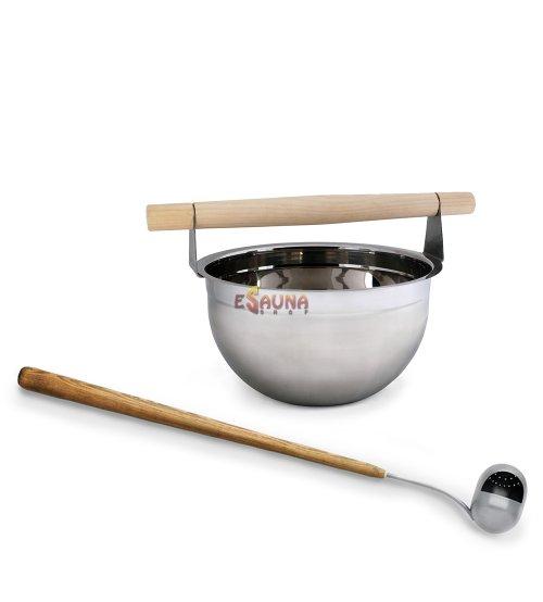 "Sawo sauna set ""More steam"" premium, 5,0 L"