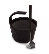 """Set saună Sawo """"Mai mult abur"""", colorat, negru 4,0 L"""