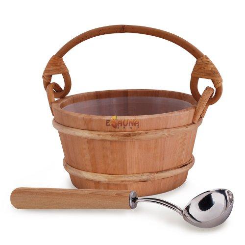 """Set de sauna Sawo """"Plus de vapeur"""", cèdre, standart, 4,0 L"""