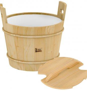 Sawo wooden bucket with..