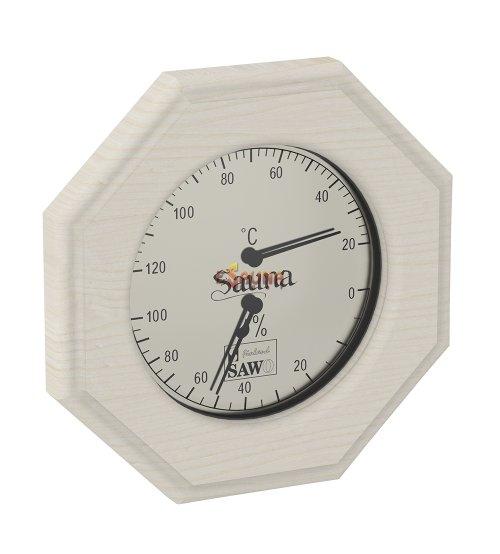 Termohigrometer Sawo 241-THD, osmerokoten, aspen