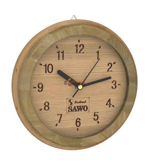 Часовник Sawo 531, малка кофа, кедър