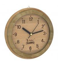 Horloge Sawo 531, petit seau, cèdre