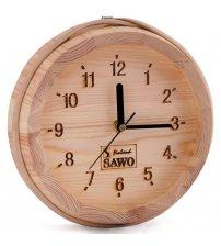 Horloge Sawo 531, petit seau en pin