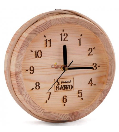 Sawo clock 531, small bucket, pine