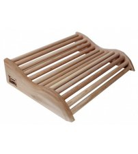 Drewniany zagłówek Sawo 510-D, cedr