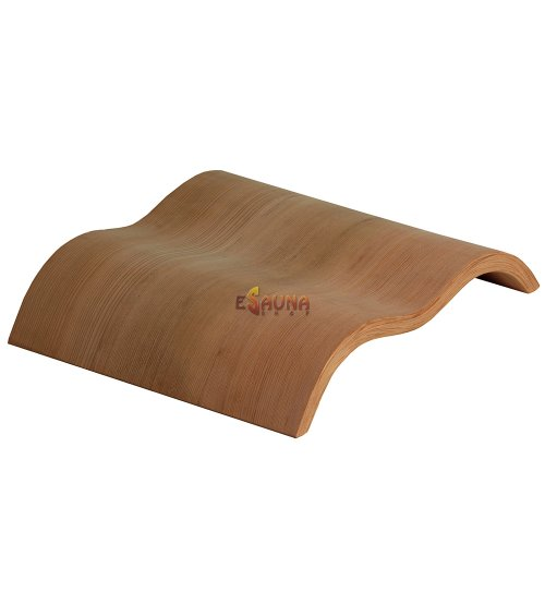 Poggiatesta Sawo in legno wave 515-D, cedro