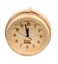 Drevené hodiny Sawo