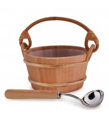 "Sawo sauna set ""More steam"" cedar, standart, 4,0 L"