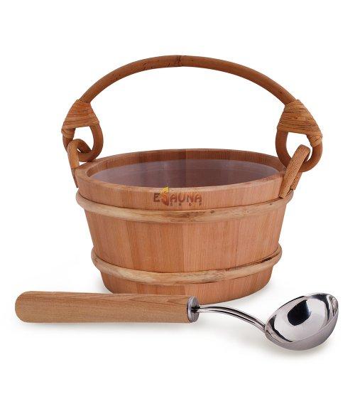 """Sawo sauna set """"Aufguss zugeben"""" zeder, standart, 4,0 L"""