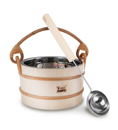 "Sawo sauna set ""More steam"" optimal, 5,0 L"