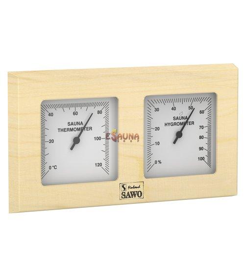 Sawo thermo-hygrometer 224-TH, pine