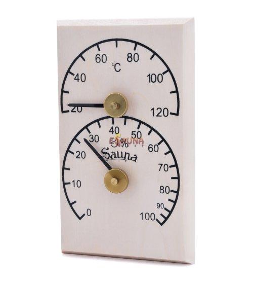 Sawo vertikalus termo-higrometras 106-THB, drebulė