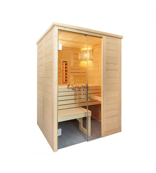 Cabina de sauna Sentiotec Alaska Mini Infra+
