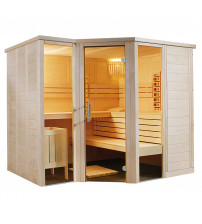 Cabina de sauna Sentiotec Arktis Infra+