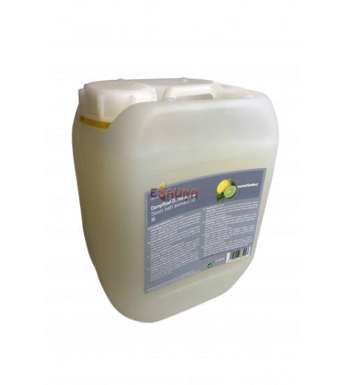 Huiles aromatiques pour bain de vapeur Sentiotec Limone 5L