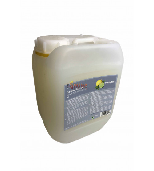 Sentiotec Dampfbad Aromaöle Zitronen  5l