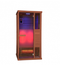 Sentiotec Phönix Piccola cabina a infrarossi