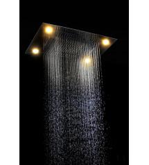 Douche de pluie Steamtec Tolo, 600x800 mm