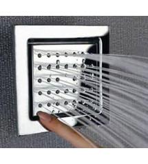Getti in ottone orientabili per doccia a pioggia Steamtec Tolo