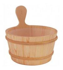 Sawo wooden bucket 4l