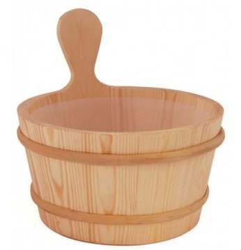 Sawo wooden bucket 4l..