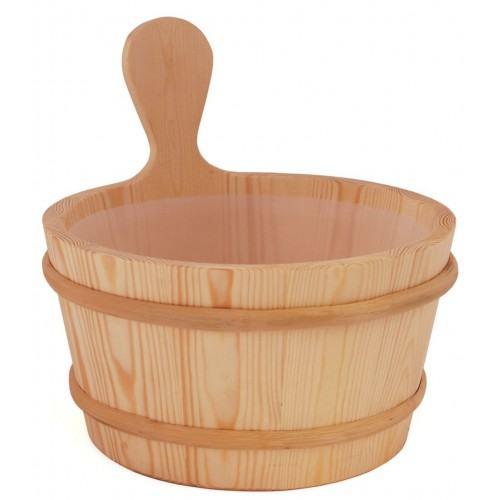Sawo wooden bucket 4l in Sauna accessories on Esaunashop.com online sauna store