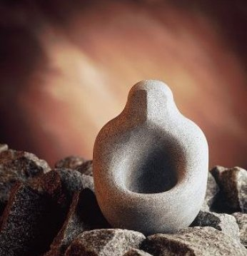 Stenen kom voor geuren ..