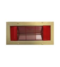 Infrarot-Panel Saunax, Ecke