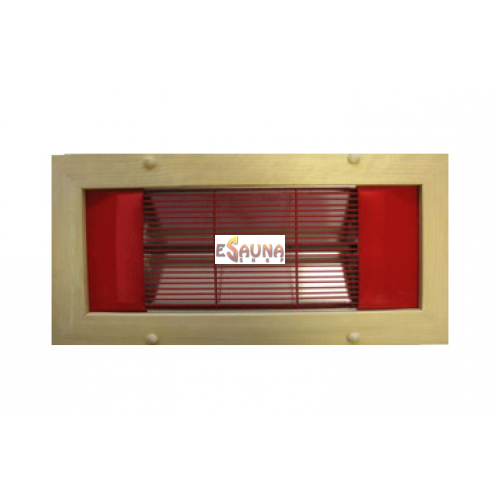 Infrared panel Saunax, corner