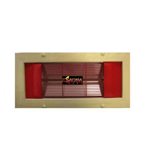 Panel infrarrojo Saunax, pared