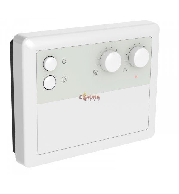 Harvia Topclass Combi Saunaofen 9 KW mit Griffin digital Steuergerät CG170C