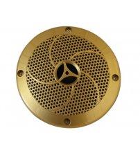 Lautsprecher goldenfarben