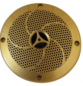 Lautsprecher goldenfarb..