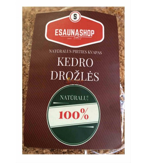 Sägespäne Red Cedar