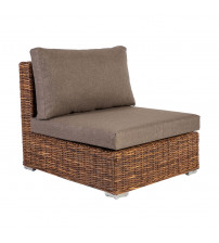 Modulär soffa med croco -madrass
