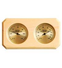 Thermo-hygromètre de type boîte Sawo