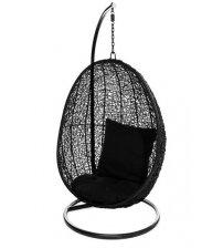 Wiszące krzesło - jajko