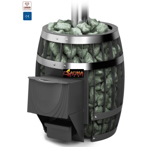 TMF Sayany Carbon in Woodburning heaters on Esaunashop.com online sauna store