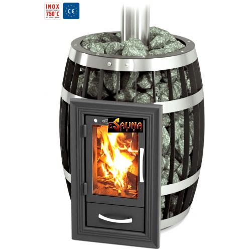 TMF Sayany Inox Lumina KTK CE in Woodburning heaters on Esaunashop.com online sauna store