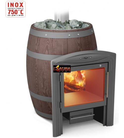 Malkinė pirties krosnelė - TMF Barrel Vitra Inox