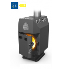 Студент уголь (9 kW), стальная дверца