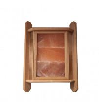 Abażur z solą himalajską, 3 płytki