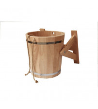 Shower bucket with plastic insert, 10 l