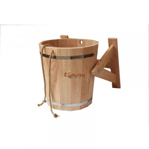 Shower bucket with stainless steel insert, 20 l