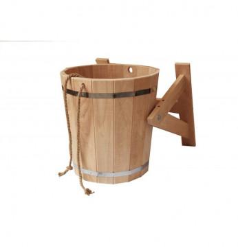 Shower bucket with plas..