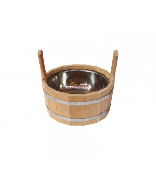 Bucket with stainless steel insert, 7 l