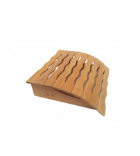 Headrest for sauna 45x35 cm, wavy