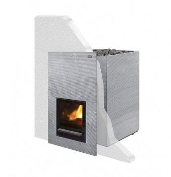 Stufa a legna sauna - T..