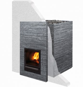 Sauna woodburning stove..